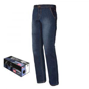 Dzięki rozciągliwości i gramaturze tkaniny (gramatura 280 gr/m2) spodnie są bardzo wygodne.