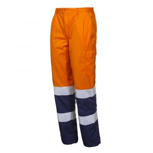 Lekkie spodnie o wysokiej widoczności.